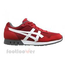 Scarpe Asics Curreo HN537 2301 Uomo Sneakers True Red White Mesh Suede