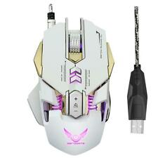 3200DPI Optical Regolabile 7 Button Wired Gaming Game Mouse Macro per Laptop