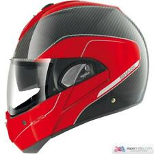 Casco SHARK EVOLINE PRO CARBON Rojo / Blanco
