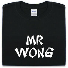 Mr. Wong Camiseta S-XXL HOMBRE MUJER