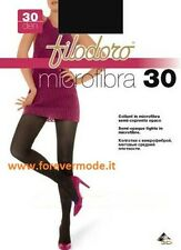 3 Femme collants Filodoro Microfibre 30 semi opaque collants art microfibre 30
