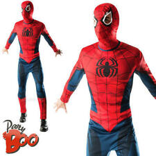 Spiderman Men's Fancy Dress Marvel The Avengers Superhero Adult's Costume Outfit