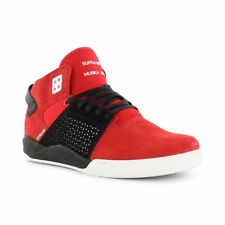 Supra Shoes Skytop 3 High Top - Red White