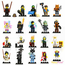 LEGO NINJAGO MOVIE MINIFIGURES MINI FIGURE LLOYD GARMADON ZANE SHARK KAI JAY POP