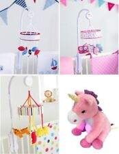 RED KITE MUSICAL MOBILE PRETTY KITTY (PINK) SHIP AHOY (BLUE) Safari Unicorn