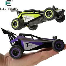 Remote Control RC Car High Speed Green Dune Buggy 1/32 Scale Drive Fast Drift