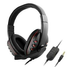 Auricolare da gioco con microfono per PS4 PC Surround Sound Auricolare per