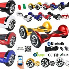 """HOVERBOARD 6.5""""-10'' LUCI LED E BLUETOOTH SPEAKER SCOOTER OVERBOARD 20 colore @"""