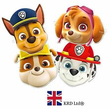 PAW PATROL FACE MASKS Kids Child Birthday Party Bag Filler Loot Toy Toys Gift UK