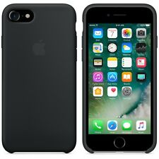 New Design Soft Silicone Case Cover For Apple iPhone 7 / 7 Plus (Black)