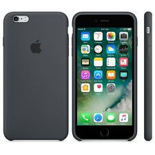 New Design Soft Silicone Case Cover For Apple iPhone 6S/6S Plus (Black)