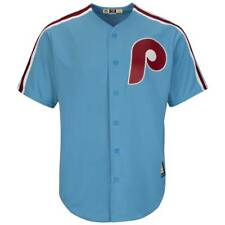 Majestic Philadelphia Phillies COOPERSTOWN COOL BASE MLB MAGLIA ROAD