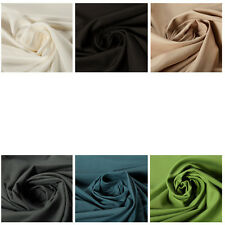 100% Cotton Twill Quality Fabric Dress Material Plain Upholstery Fashion Craft