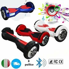 E-Balance Scooter 8'' Self Balancing ELETTRICO SCOOTER HOVERBOARD BLUETOOTH UP