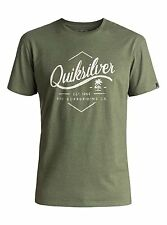 Maglietta T-shirt Quiksilver Classic Sea Tales Verde Four Leaf Clover Tee