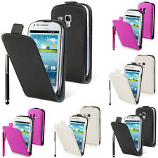 Protective Cover for Samsung Galaxy S3 Mini i8190 Stylus Phone Flip Case