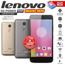 New Factory Unlocked LENOVO K6 Power Grey Gold Dual SIM 32GB Android Smartphone