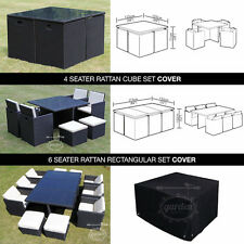 Garden Furniture Cover For Rattan Cube Waterproof Outdoor Cover