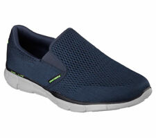 Skechers equalizer-double Play Uomo Navy Casual, Slip-on Scarpe da ginnastica