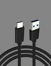 USB 3.0 A/M to USB 3.1 Type C Data Charging Cable for New Macbook USB Black Lot