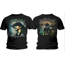 Motorhead Clean Your Clock Camiseta Licencia oficial Chico Men's Tee Rockoff
