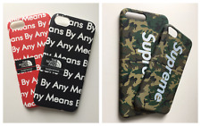 SUPREME NYC CAMOUFLAGE NORTH FACE iPhone 6, 7 and 8 and PLUS Case/Cover/Protect