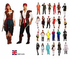 ADULT FANCY DRESS COSTUME Ladies Mens Halloween Horror Outfit Book Character UK