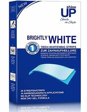 Teeth Whitening Strips 28 PROFESSIONAL Bright White-Strips NO SLIP Technoogy