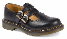 Dr Martens DM 12916001 8065 Mary Jane black double-strap leather shoe size 3-9UK