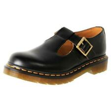 Dr Martens 14852001 Polley black Mary Jane smooth leather shoe size 3-9UK