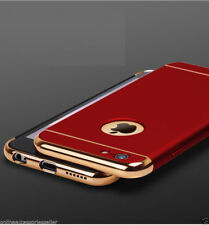 3-In-1-Electroplated-Bumper-PC-Hard-Back-Cover-Case FOR Apple IPhone 5 /5S