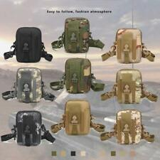 EDC Tactical Molle Pouch Utility Sports Waist Bag with Cell Phone Holster Holder