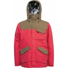 GIACCA SNOWBOARD UOMO NITRO YUKON JACKET TRUE RED /BARK