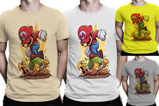 Mario Game Over Printed T shirt tee Men Women