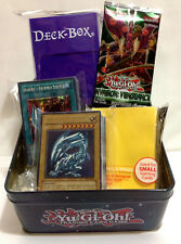 YUGIOH GIFT PACK - ULTRA PRO DECK PROTECTORS, DECK BOX, CARD BUNDLE & BOOSTER
