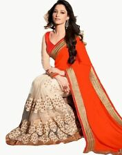 Saree Exclusive Beautiful Designer Bollywood Indian Saree Partywear Sari 182