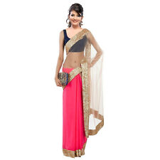 Saree Exclusive Beautiful Designer Bollywood Indian Saree Partywear Sari 139