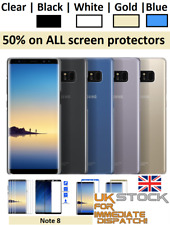 4D Curved Tempered Glass Screen Protector For Samsung Galaxy S8, S8 Plus, Note 8