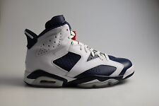 Nike Air Jordan 6 Olympic Navy White EUR 45 US 11  384664 130