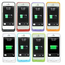 2200mAh For iPhone 5/SE External Battery Backup Charging Bank Power Case Cover