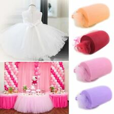 6inch*100yard Tulle Roll Spool Fabric Party Bow Tulle Rolls Decoration Fabric