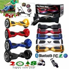 """10"""" Patinete Electrico Scooter Monociclo Hoverboard Skateboard ♬ Bolso Bluetooth"""