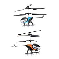 S126 2 Channel Infrared Radio Remote Control Gyro RC Helicopter Toy Blue/Orange