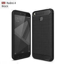 For Xiaomi Mi Redmi 4 Back Cover Rugged Brushed Exclusive Hybrid Soft Case