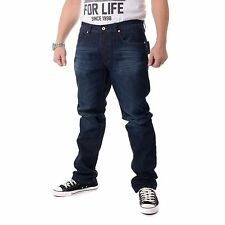 Rocawear relaxed fit jeans uomo, medio Blue, Blu, 15342
