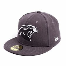 New Era 5950 Carolina Panthers Casquette Ajustée Bonnet Casquette, gris, 93096