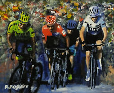 Chris Froome Tour de France Cycling art painting framed or unframed.