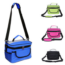 Thermal Camping Picnic Cooler Insulated Lunch Bag Storage Box Tote Container