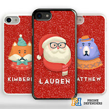 CHRISTMAS PERSONALISED SANTA NAME CUSTOM Phone Case Cover For iPhone Samsung