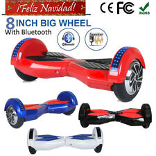 "8.0"" Scooter Eléctrico Patinete Self Balancing Monociclo overboard ✔ Bluetooth S"